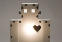The Moocow Robot Lamp